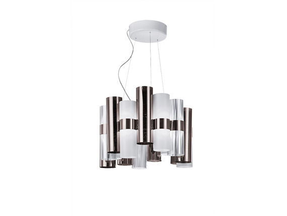 Lampa SLAMP LA LOLLO Pewter / White