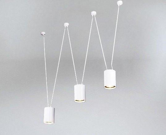 Shilo Viwin 9022 Biała Lampa Nowoczesna Na Linkach
