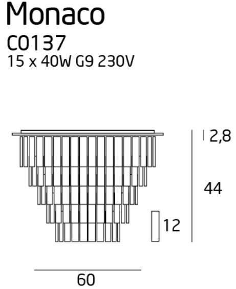 Maxlight Monaco C0137 Plafon