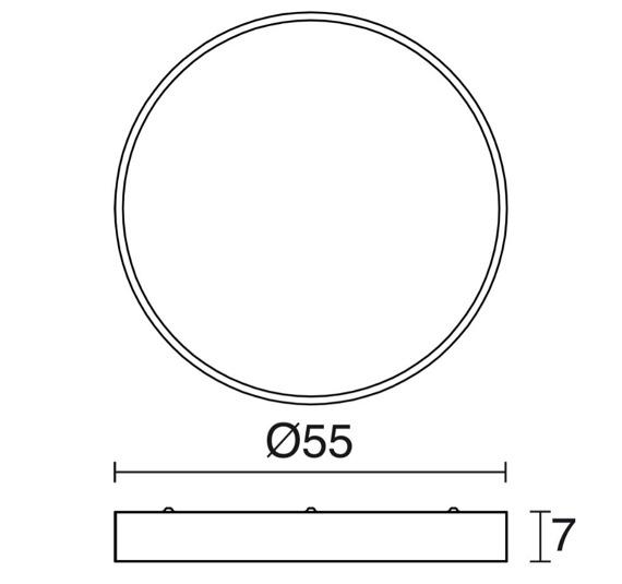 Novolux Exo Lampa sufitowa Lari 503B-L0150B-01