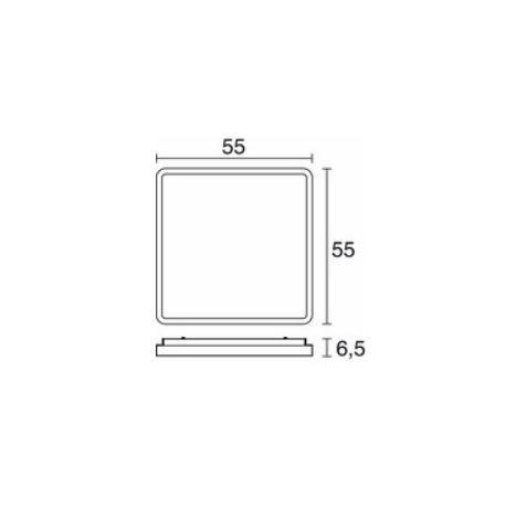 Novolux Exo Plafon Siker 505C-F02F8B-35