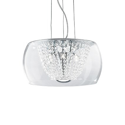 AUDI-61 SP6 133874 Lampa wisząca Ideal Lux chrom