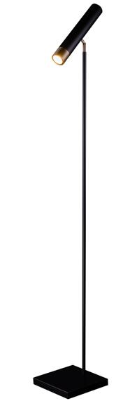 Amplex Eido Lampa Stojąca 1xGU10 50W czarna