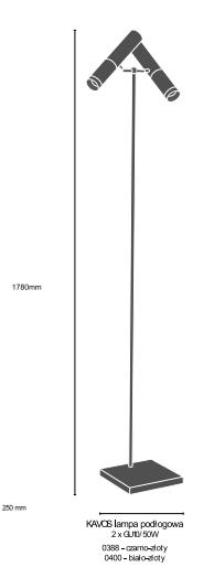 Amplex Kavos 0388 Lampa Podłogowa