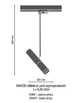 Amplex Kavos 0389 Spot do Szynoprzewodu