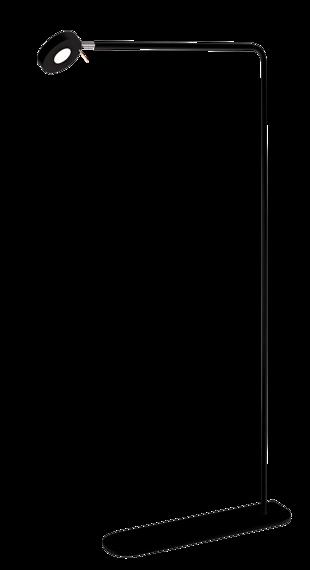 Amplex Saito czarna Lampka Stojąca