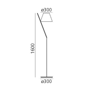 Artemide La Petite 1753030A Lampa podłogowa