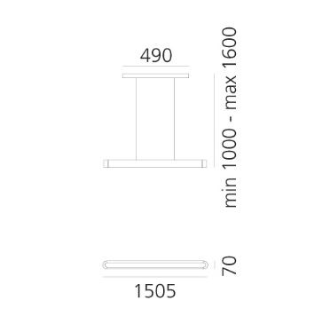 Artemide Talo 1925020A Zwis