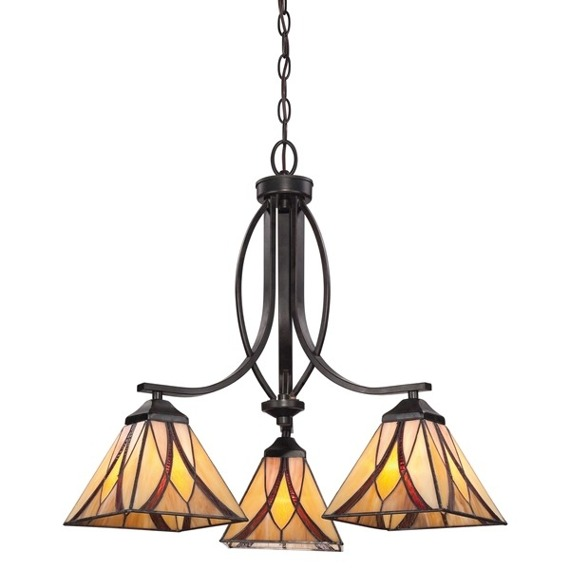 Asheville QZ/ASHEVILLE3 Elstead Lighting Lampa wisząca