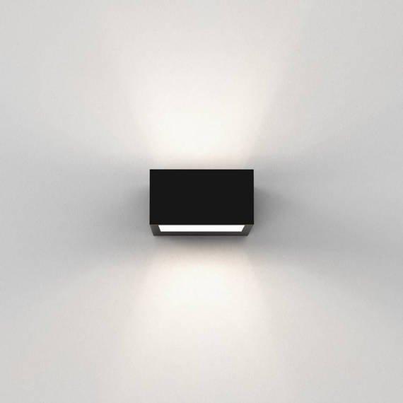 Astro Kappa LED 1151004 Czarna Lampa Ścienna
