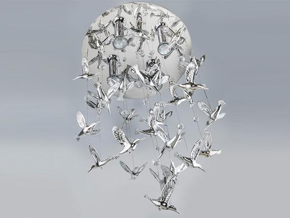 Birds AZ2449 Azzardo Lampa wisząca
