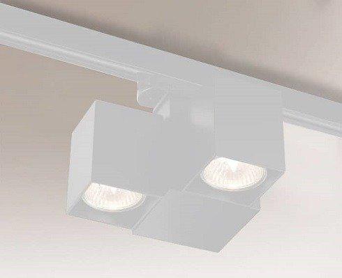 Bizen 7709 Shilo Biały Reflektor do szynoprzewodu
