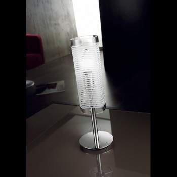 DUNE LT 1028/38 cristal Lampka Stołowa Lampade Italiane