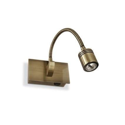 DYNAMO AP1 121352 Lampa ścienna antyczny brąz Ideal Lux