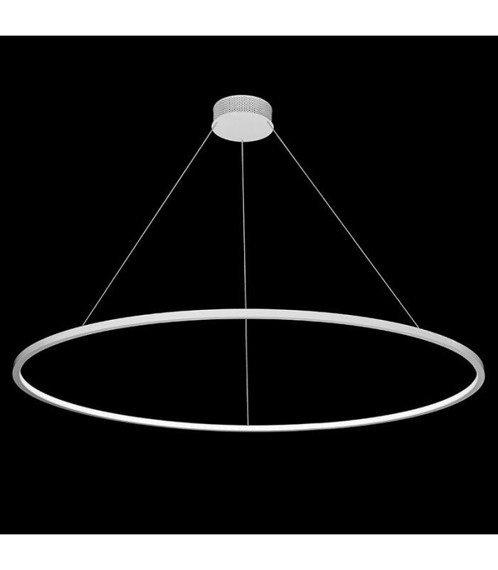 Echo LED W 120 Lampa wisząca Ramko czarna