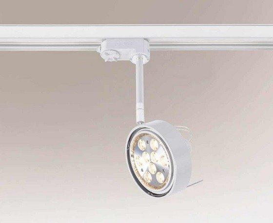 Fussa 6601 Shilo Biały Reflektor do szynoprzewodu G53
