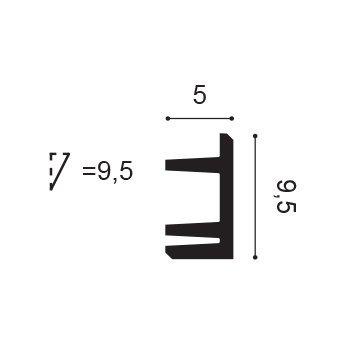 Gzyms oświetleniowy Orac Decor C381 - L3