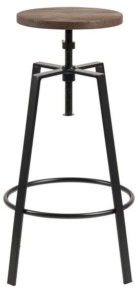 Industrialne Krzesło Rome metalowe