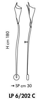 KINGSTON LP 6/202C 180 cm Kinkiet Sillux miedziany