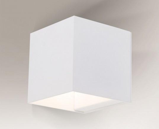 Kani 4428 Shilo Biały Lampa ścienna