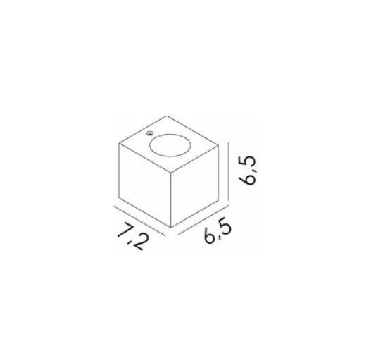 Kinkiet Novolux Exo Brick 412B-L01E2B-40