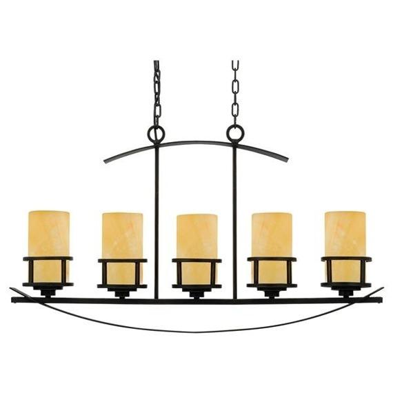 Kyle QZ/KYLE5/ISLE Lampa wisząca Elstead Lighting