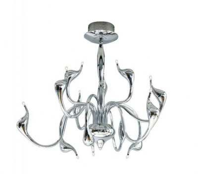 Lampa AZZARDO Snake MD 6230-12 Chrome