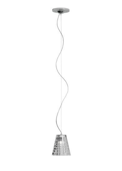 Lampa Fabbian FLOW D87 A01 00 cristal