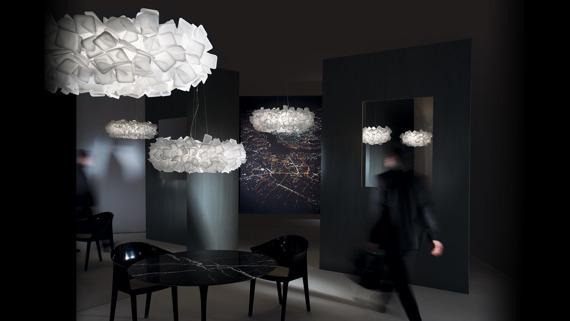 Lampa SLAMP CLIZIA 78cm white Super Cena
