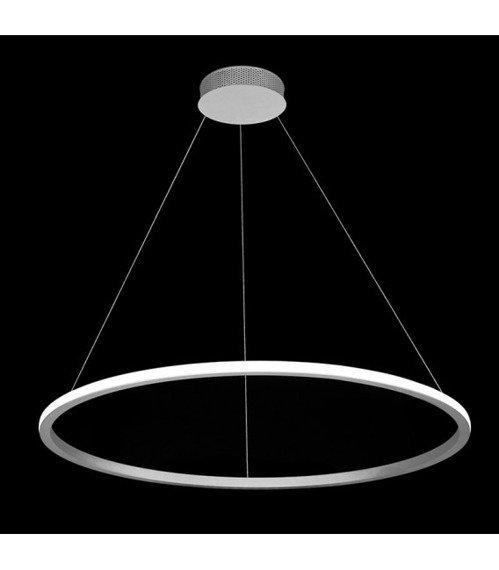 Lampa Wisząca Ledowa Echo 60 cm 67883 Ramko czarna Led na Zewnątrz