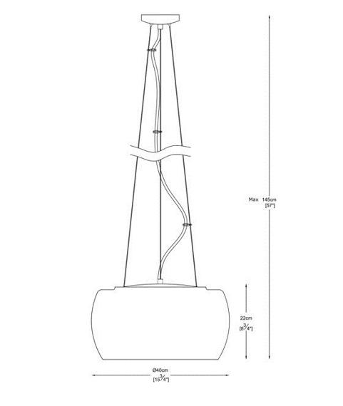 Lampa Wisząca ZUMA LINE Crystal P0076-05L