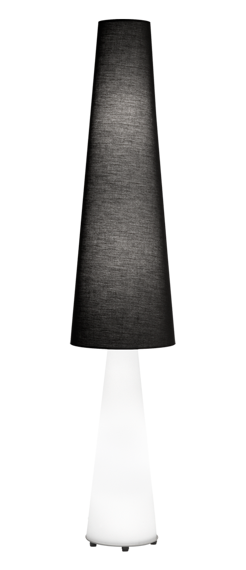 Lampa podłogowa Estiluz CEP P-2859 black