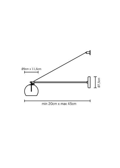 Lampa ścienna Fabbian BELUGA COLOUR D57 D03 00 crystal