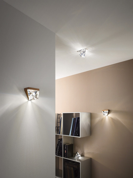 Lampa ścienna Fabbian Tripla F41 D01 76