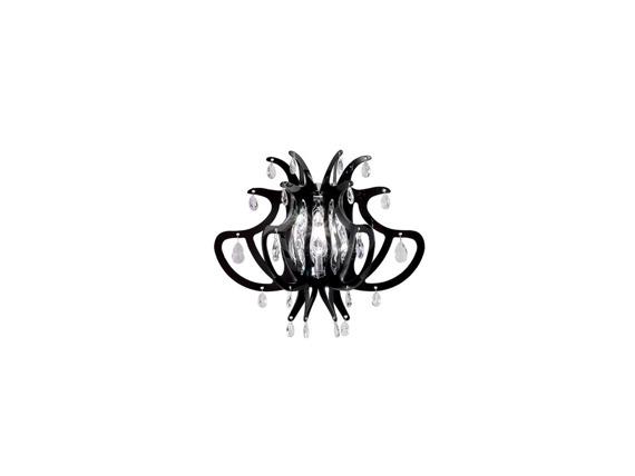 Lampa ścienna Slamp Lillibet Mini w kolorze czarnym