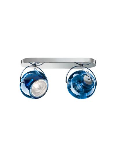 Lampa sufitowa Fabbian BELUGA COLOUR D57 G23 31 blue
