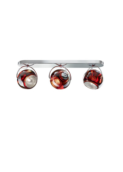 Lampa sufitowa Fabbian BELUGA COLOUR D57 G25 03 red