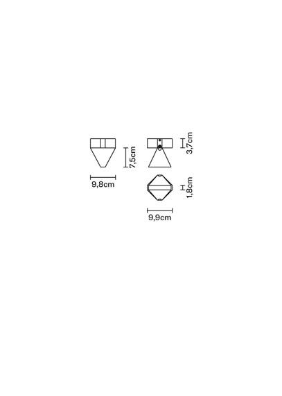 Lampa sufitowa Fabbian Tripla F41 E01 76
