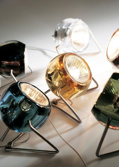Lampka stojąca Fabbian BELUGA COLOUR D57 B03 00 crystal
