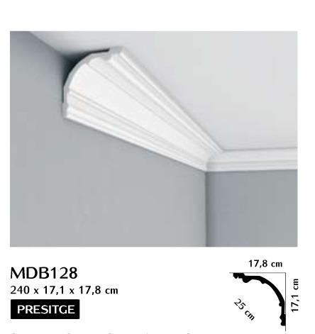 Listwa przysufitowa gładka Mardom MDB128