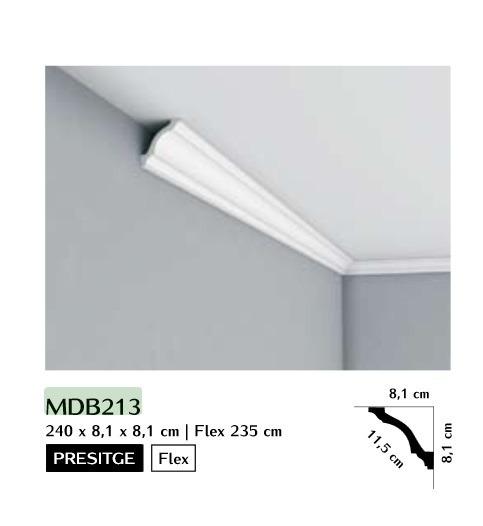 Listwa przysufitowa gładka Mardom MDB213