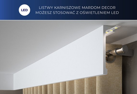 Mardom Decor QL036 Listwa karniszowa