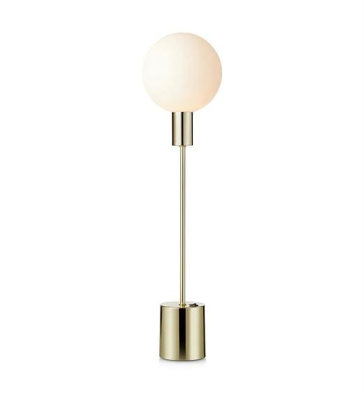 Markslojd Uno 107765 - Lampka Nocna Mosiądzowa 1 x 20 W G9