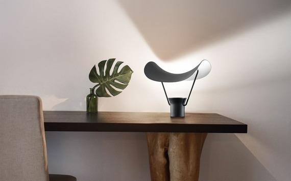 Masiero Vollee TL V91 Lampka stolikowa czarna