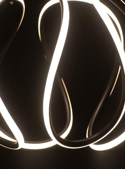 MaxLight Twist Zwis LED czarny