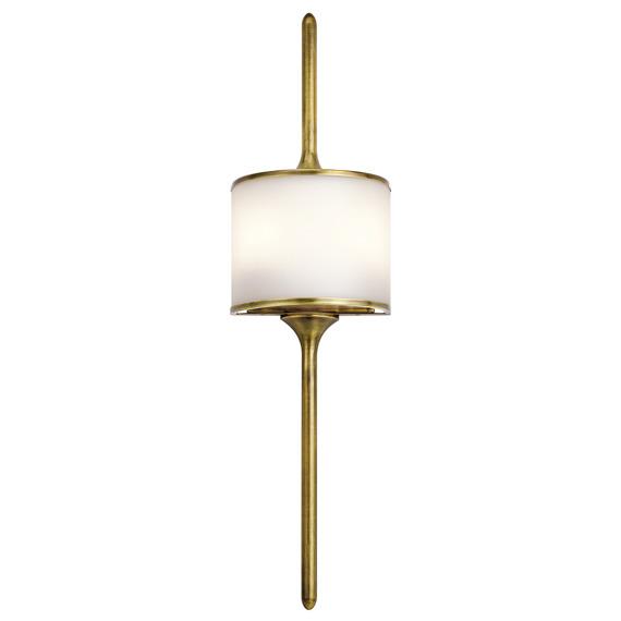 Mona KL/MONA/L PB Elstead Lighting Lampa ścienna