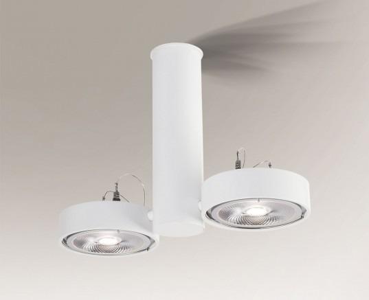 Natori 2261 Shilo Biały Lampa sufitowa