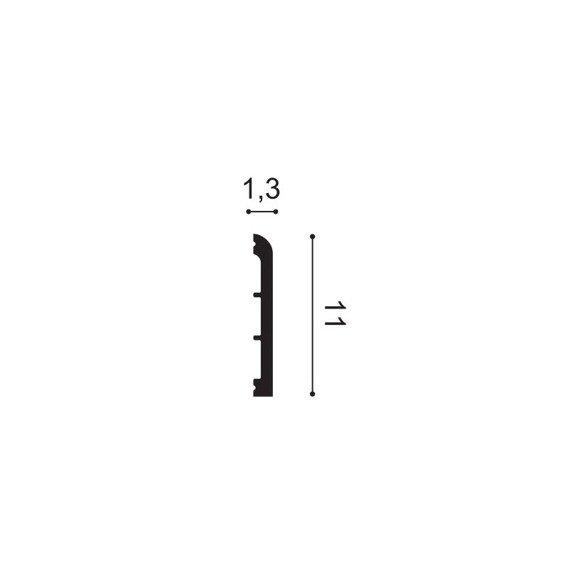 ORAC DECOR SX184 Listwa przypodłogowa