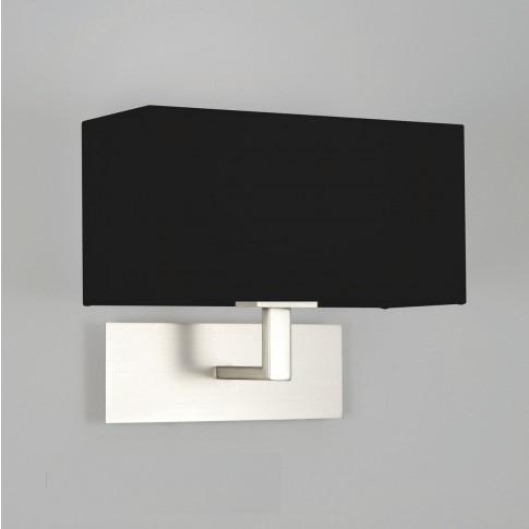 Park Lane 7098 Astro Lampa ścienna nikiel szczotkowany/czarny
