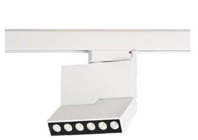 Reflektor szynowy Azzardo Leon 5 AZ3490 Biały LED